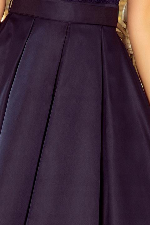 KrÓtka MINI Sukienka NA IMPREZĘ STUDNIÓWKĘ 244-2 S 9346615682 Odzież Damska Sukienki wieczorowe HZ BRNGHZ-4