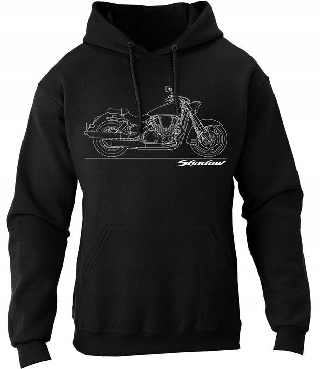 Bluza honda SHADOW cruiser chopper motocyklowa XXL 8992587103 Odzież Męska Bluzy CC RFAJCC-2