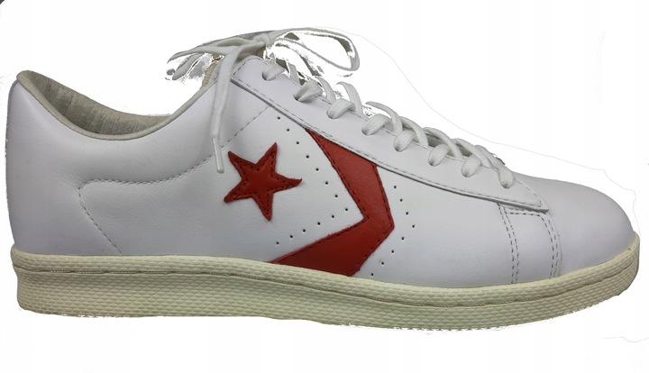 CONVERSE PRO LTHR 1976 OX 102745 WHITE/RED r44 9855101816 Buty Męskie Sportowe YH VWCSYH-8