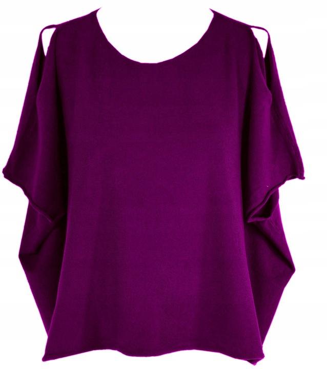 Tezenis Calzedonia sweter nietoperz oversize M 8862570264 Odzież Damska Swetry RB DMSIRB-6