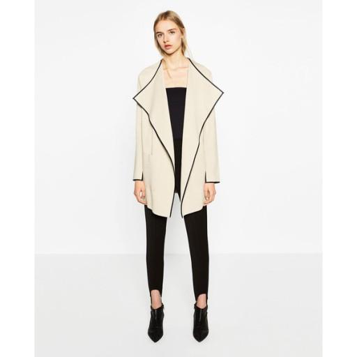 ZARA beżowy sweter kardigan M 38 NOWY 9846987570 Odzież Damska Swetry UG LVSIUG-8