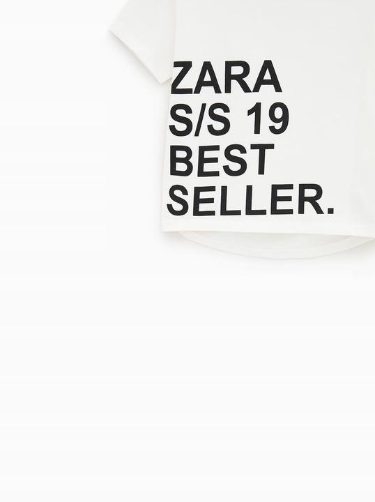 ZARA KOSZULKA ZARA BEST SELLER 140 9676388087 Dziecięce Odzież YV WAPAYV-8