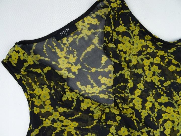 112_ PAPAYA bluzka BOMBKA odkryte ramiona 36/S 8974653698 Odzież Damska Bluzki MH PBDIMH-1