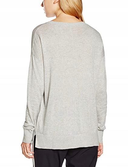 NIZZIN Sweter damski PULLOVER VIOLET r.XL szary 9091691371 Odzież Damska Swetry RF NRRIRF-5