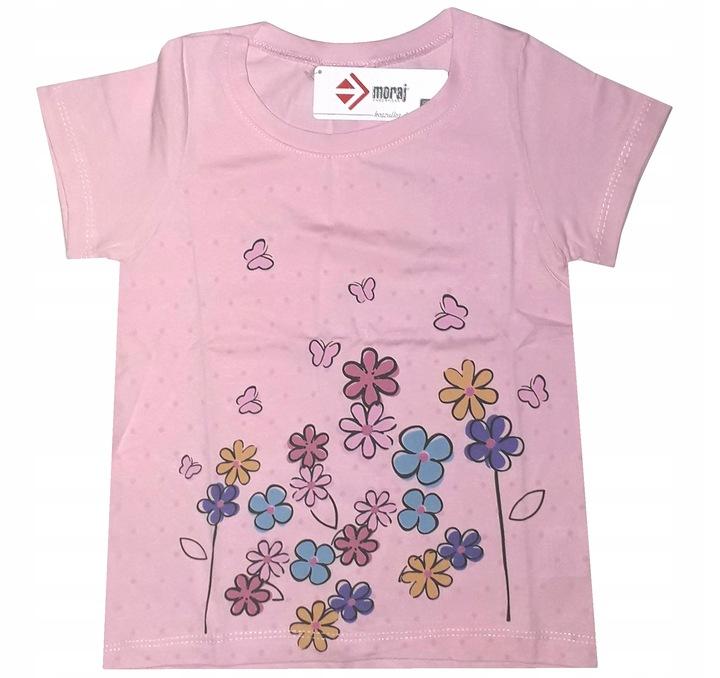 Bluzka bawełniana dziewczęca #23 bluzeczka 92-98 7864285874 Dziecięce Odzież PL UCSPPL-2