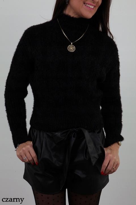 MODNY MIĘKKI SWETEREK PÓŁGOLF WARKOCZE KOLORY 8648169796 Odzież Damska Swetry IL FTLSIL-5