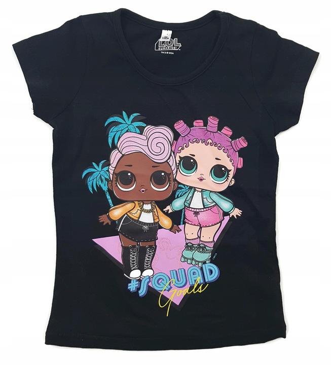 Bluzka LOL Suprise 122 T-shirt bluzeczka l.o.l 7984139544 Dziecięce Odzież EW BACEEW-4
