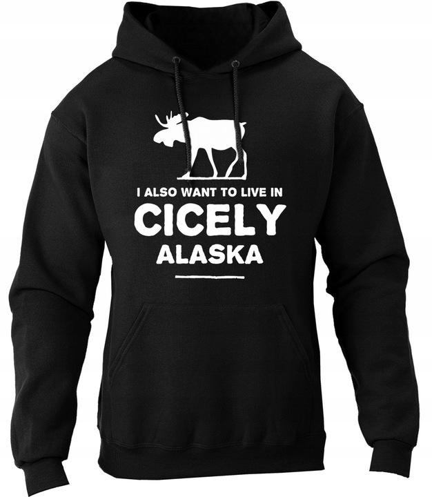 Bluza Przystanek Alaska Northern Exposure łoś S 9606127917 Odzież Męska Bluzy DG XGMODG-7