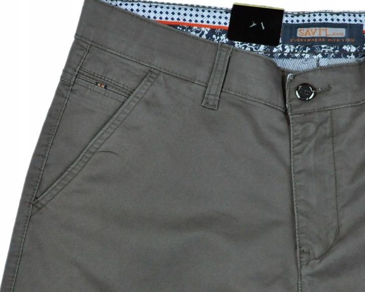 Spodnie męskie wizytowe Savil V40-3 86 cm 32/32 9663380338 Odzież Męska Spodnie LY CMLWLY-2