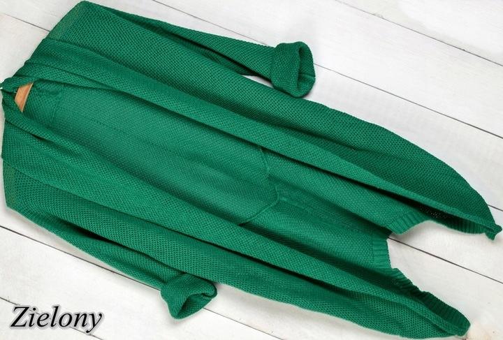 K2a KARDIGAN NARZUTKA SWETER asymetryczny 8525484831 Odzież Damska Swetry GT YECXGT-2