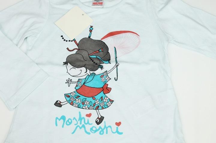ZARA bluzka bluzeczka NADRUK 86 cm 18-24 m-ce 9001703908 Dziecięce Odzież OE DSLGOE-4