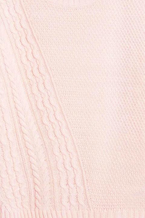 Joe Fresh Sweter Asymetryczny Warkocz P.RÓż XL 42 8844466791 Odzież Damska Swetry HH ADWSHH-1