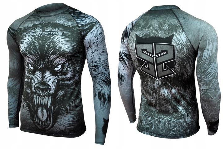 Koszulka męska sportowa, termiczna, długi rękaw. 7799673989 Odzież Męska Koszulki z długim rękawem IK FSVTIK-6