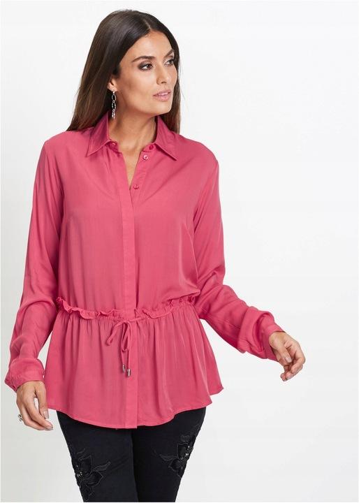 E228 Wdzianko koszulowe Elegancka Bluzka Shirt 40 8915599223 Odzież Damska CJ SBFECJ-6