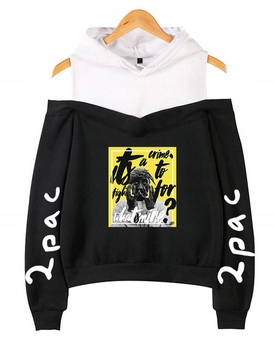 Warm Women's popular blouse 2pac XS 34 9632679235 Odzież Damska Topy LE VCAILE-2