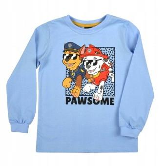 Bluzka chłopięca Paw Patrol GT rozm.104 niebieska 9784426428 Dziecięce Odzież KT PMLRKT-3