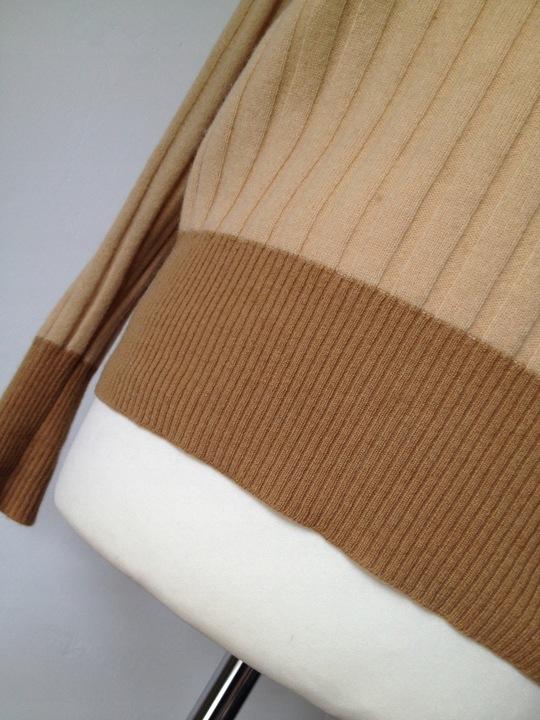 KASZMIROWY włoski -100% KASZMIR- sweter - 38 (M) - 9766041553 Odzież Damska Swetry DN VAZMDN-4