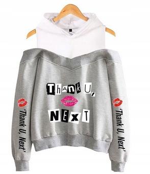 Women's blouse with Ariana Grande M 38's Hood 9654105439 Odzież Damska Topy SZ LXBBSZ-9