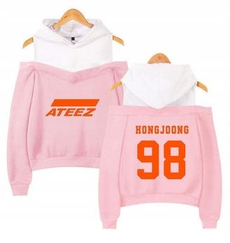 Hot Women's blouse with ATEEZ LATO L 40 Hood 9651197480 Odzież Damska Topy DK MBUZDK-1