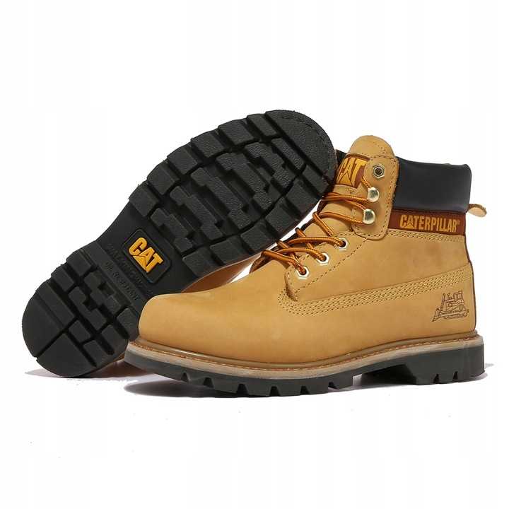 Tooling Boots Caterpillar Buty CAT Yellow 9814467067 Buty Męskie Sportowe GT BSCRGT-6