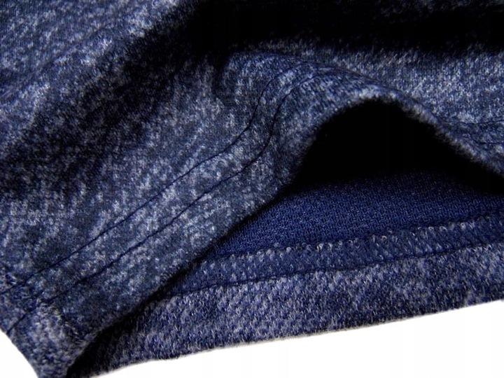 ciepła BLUZKA jak sweterek 547 FASHION 4Y granat 8602412235 Dziecięce Odzież BV PPPEBV-3