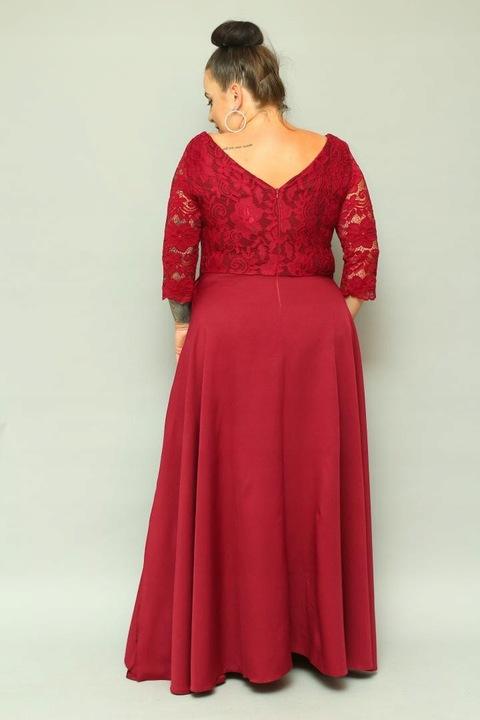 Sukienka maxi na wesele 44 46 48 50 52 54 56 58 60 8475910619 Odzież Damska Sukienki wieczorowe NB RATRNB-7