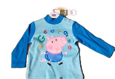 Bluzka bluza t-shirt ŚWINKA GEORGE Peppa 18M 81 9385472035 Dziecięce Odzież QM IHTGQM-1