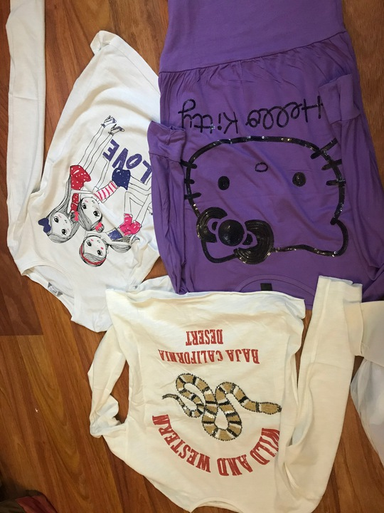zestaw bluzek 158 zara h&m 9902997091 Dziecięce Odzież QU RYSAQU-5