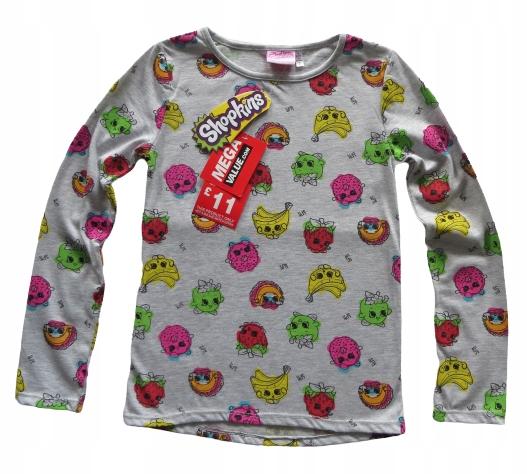 Bluzka długi rękaw SHOPKINS owoce 9-10 lat 134-140 9481177986 Dziecięce Odzież EN BFSTEN-7