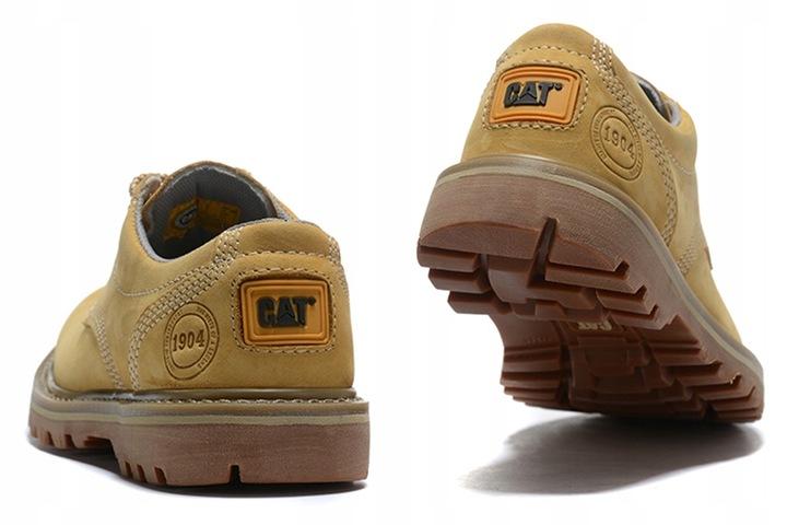 Trampki Caterpillar Buty CAT Tooling Boots Yellow 9814467772 Buty Męskie Sportowe QW BPDTQW-9