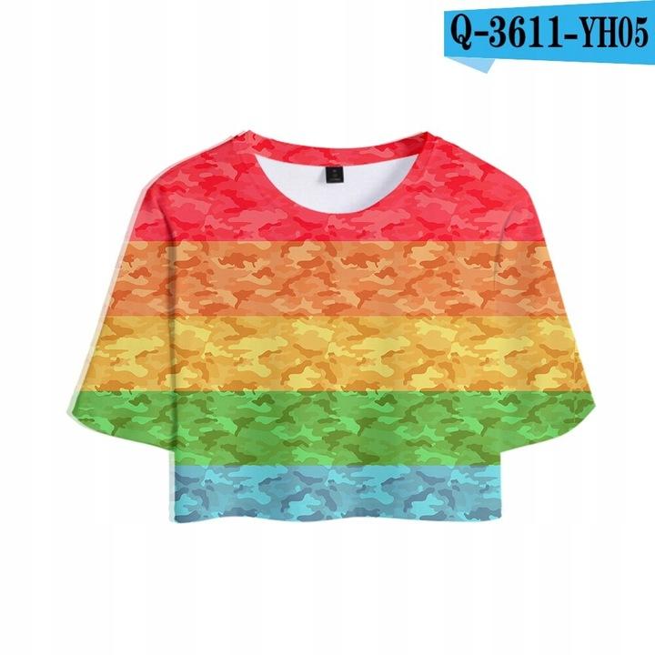Wyprzedaż LGBT Lesbijki Geje Biseksualiści Transp 9529069247 Odzież Damska Topy XF ELXUXF-9