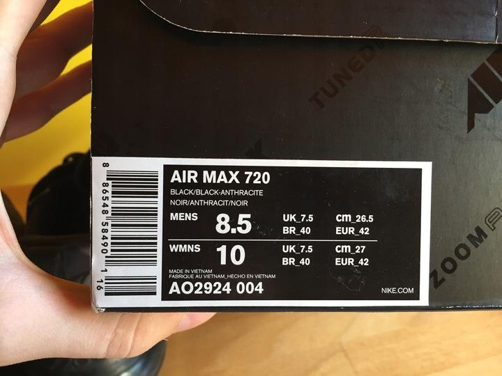 KA428 Nike Air Max 720 r. 42 9535529667 Buty Męskie Sportowe AA KYSOAA-9