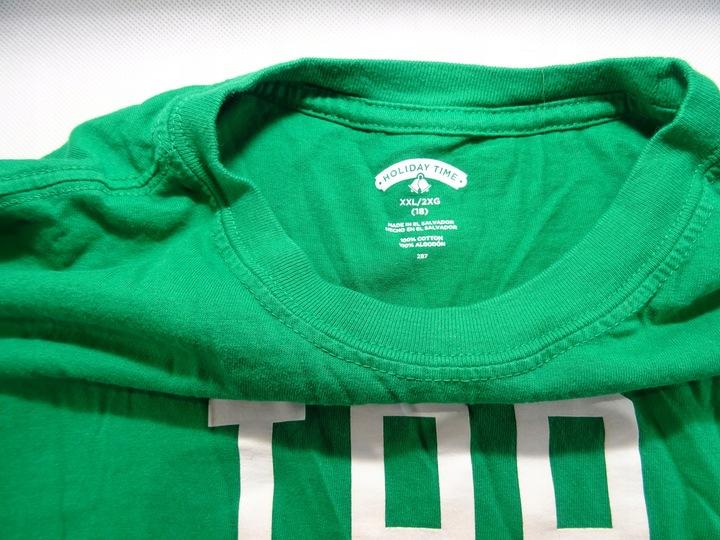Koszulka Świąteczna Holiday Time 18 lat 170 USA 9751009717 Dziecięce Odzież SU TFWLSU-4
