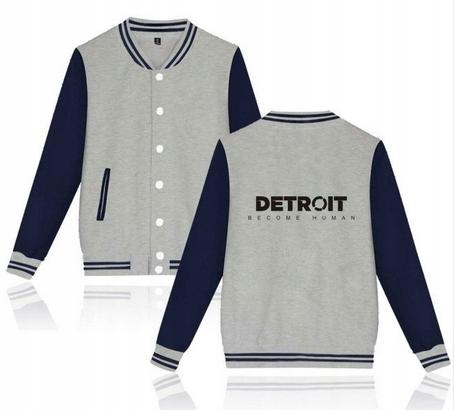 Detroit Become Human r. XXS 32 Baseball jersey 9658259423 Odzież Damska Topy UV RKFQUV-7