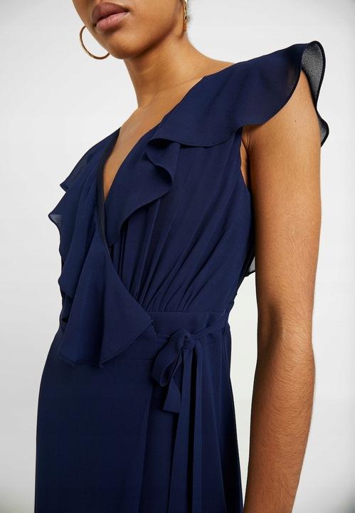 TFNC sukienka granatowa max r.40 K19 17 9835356388 Odzież Damska Sukienki wieczorowe GU TOUDGU-1