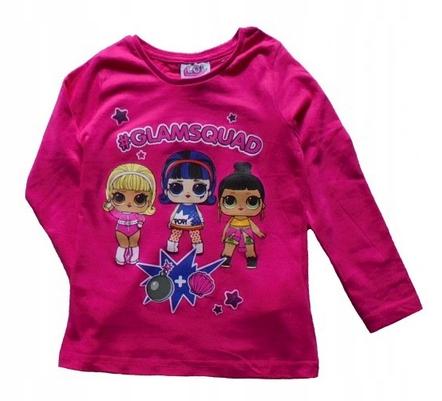 NOWA Bluzka licencja Laleczka LOL SURPRISE - 98 9899571970 Dziecięce Odzież MZ YBHMMZ-4