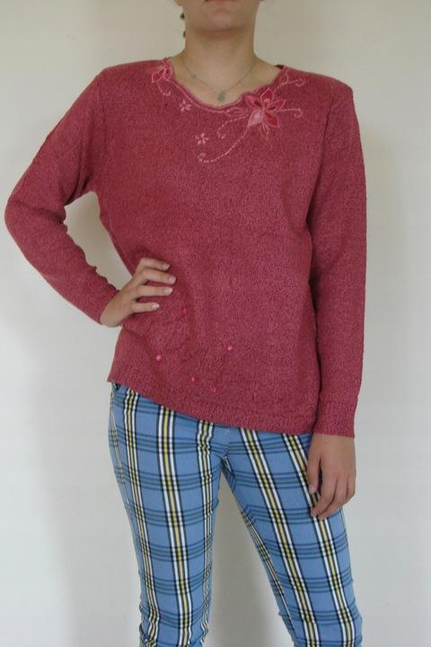 Kobieca modna bluzka M-XXL 9668502146 Odzież Damska Swetry NC PWWNNC-3