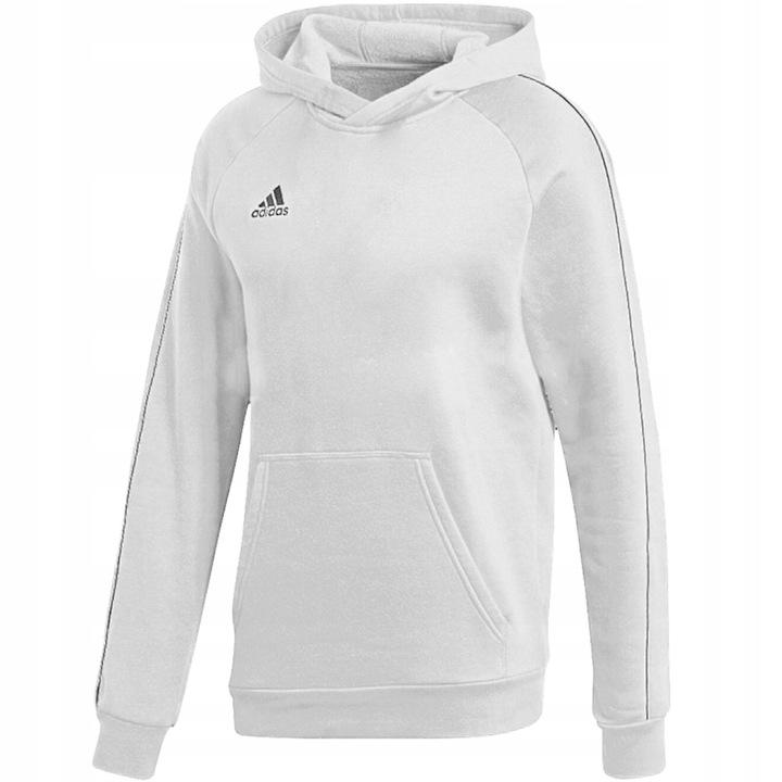 Bluza dla dzieci adidas Core 18 Hoody biała 152cm! 9678827521 Dziecięce Odzież WS HUAAWS-7