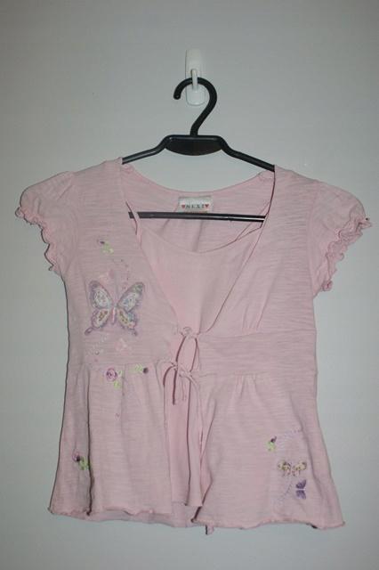 Bluzeczka dziewczęca Next 104 cm, 4 lata 9932856673 Dziecięce Odzież YQ PBDDYQ-1