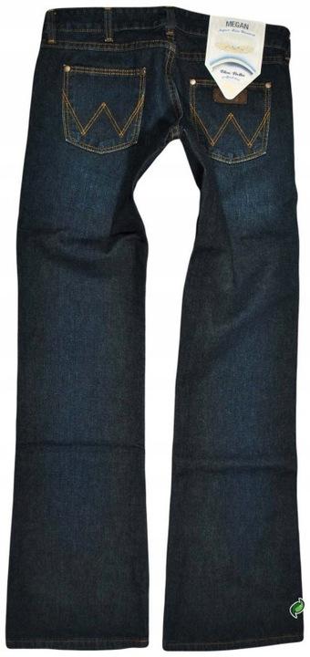 WRANGLER spodnie LOW waist bootcut MEGAN W27 L32 9383902293 Odzież Damska Jeansy JR UGTJJR-4