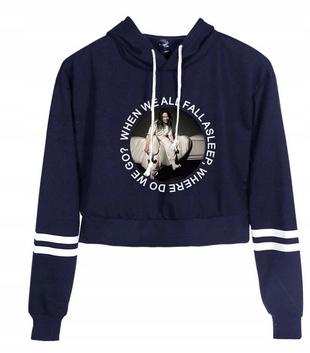 HIT Warm Shirt Billie Eilish NEW Model S 36 9658263768 Odzież Damska Topy TO QTIXTO-5