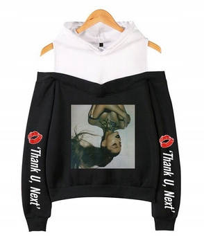 Women's blouse with Ariana Grande M 38's Hood 9654106221 Odzież Damska Topy IE TTVTIE-3