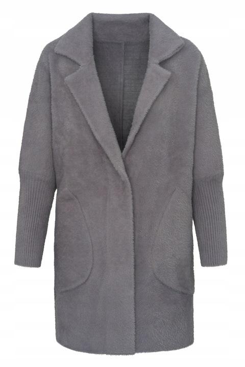 Sweter damski Narzuta Alpaka KURTKA Oversize 9737877168 Odzież Damska Swetry YL HTXXYL-1