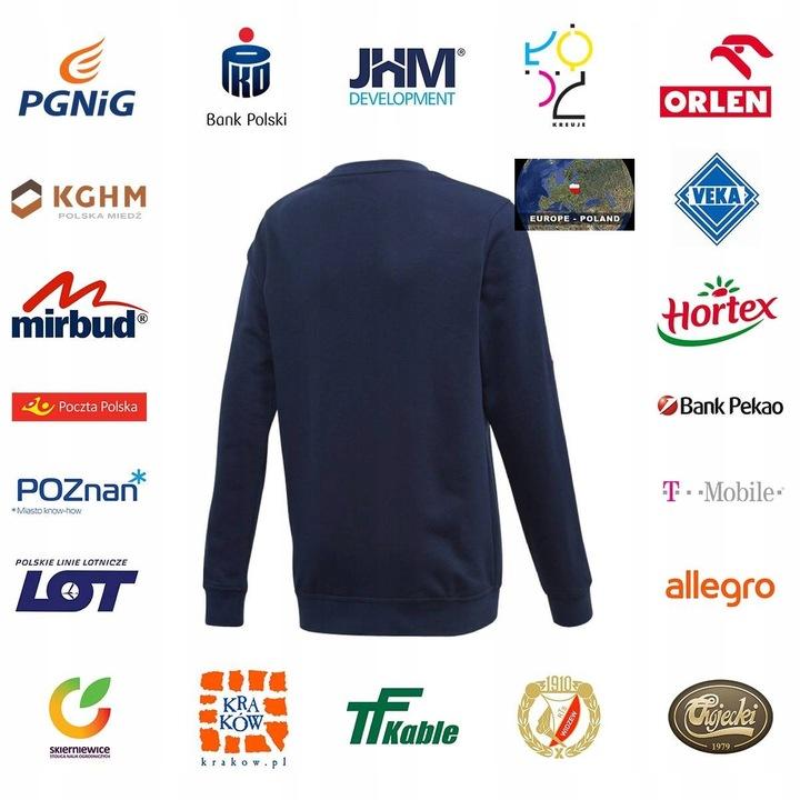 Bluza adidas Athletics Club Crew Jr 164 9610937960 Dziecięce Odzież TE ZGJMTE-1