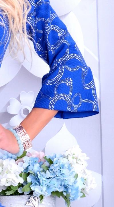 MODNA SUKIENKA TRAPEZOWA LITERA A WESELE MIENI 250 9780722638 Odzież Damska Sukienki wieczorowe EM GHGZEM-6