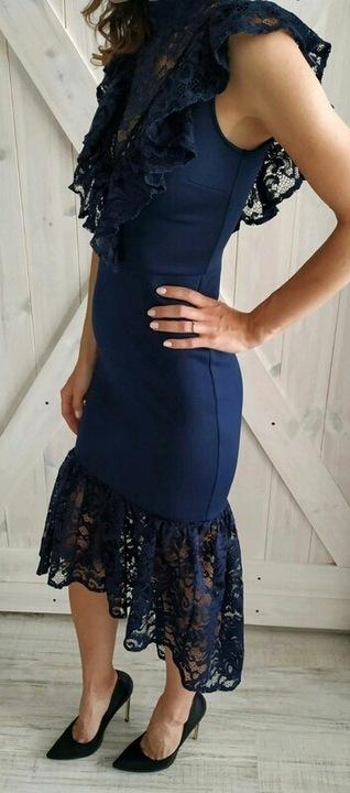 Sukienka ASOS - wesele - 38 / M 9501739182 Odzież Damska Sukienki wieczorowe YZ MNYXYZ-4