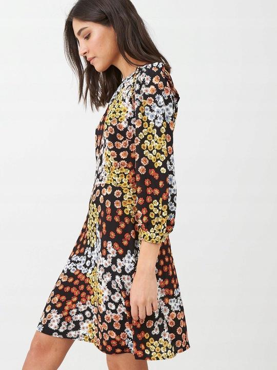 WAREHOUSE KWIECISTA SUKIENKA MINI__XL 9827347581 Odzież Damska Sukienki XH TMBFXH-8