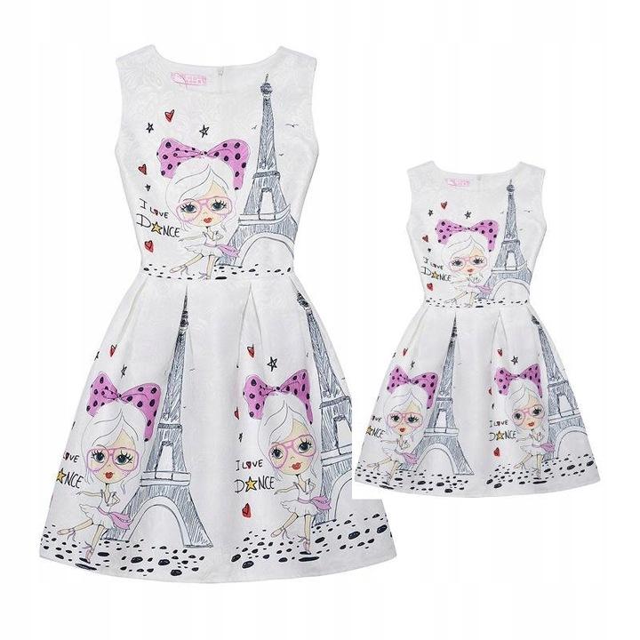 Rodzinne dopasowane strojeUbrania Sukienka dla mam 9588410826 Odzież Damska Topy UR OBWSUR-6