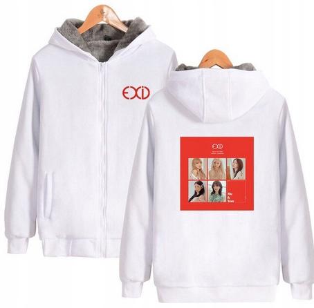 Warm blouse with EXID Hood 2019 L 40 9658455370 Odzież Damska Topy EJ PIJGEJ-6