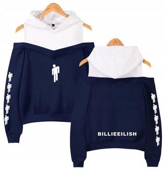Warm Billie Eilish hoodie LATO M 38 9654104150 Odzież Damska Topy WG THPCWG-4
